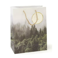 Mara-Mi Forest In The Fog Medium Gift Bag