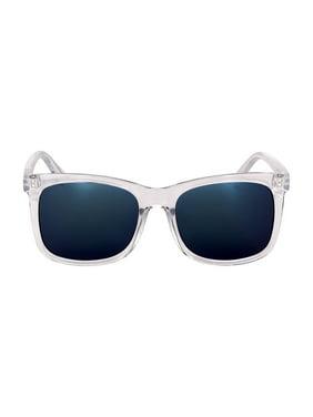 Kenneth Cole Reaction Plastic Frame Light Smoke Flash Lens Men's Sunglasses KC13245626X