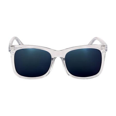 Kenneth Cole Reaction Plastic Frame Light Smoke Flash Lens Men's Sunglasses (Kenneth Cole Sunglasses Mens)