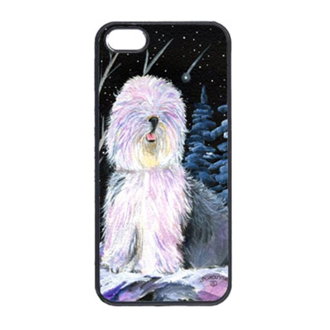 Carolines Treasures SS8409IP5 Starry Night Old English Sheepdog Cell Phone Cover Iphone 5 - image 1 de 1