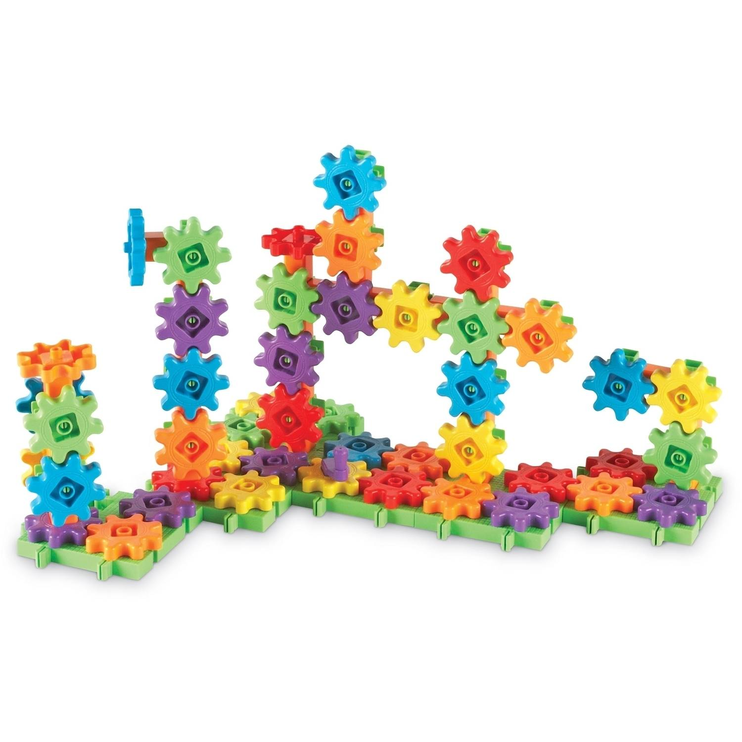 Learning Resources Gears! Gears! Gears! 100-Piece Deluxe Building Set