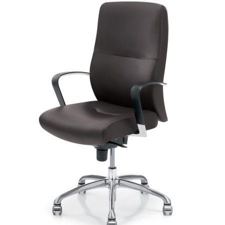 krug inc dorso e high back leather executive chair walmart com
