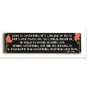 ArteHouse 0003-4127-24 Love is Everything Vintage Sign