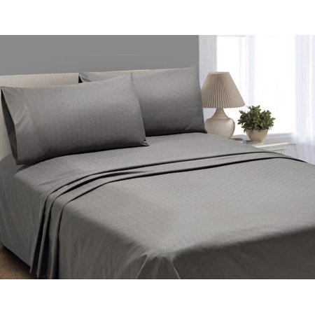 Better Homes & Gardens Luxury Microfiber Embossed Sheets, King Pillowcase Set