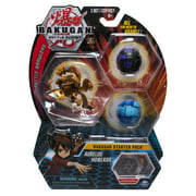 Bakugan Starter Pack 3-Pack, Aurelus Howlkor, Collectible Action Figures, for ages 6 and up