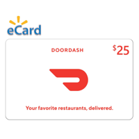 $25 DoorDash Gift Card (Email Delivery)