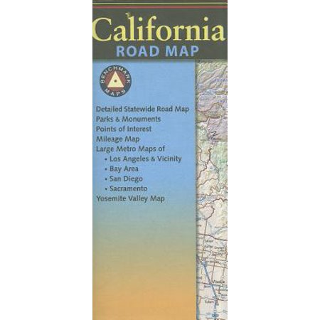 Benchmark California Road Map: 9780783499048