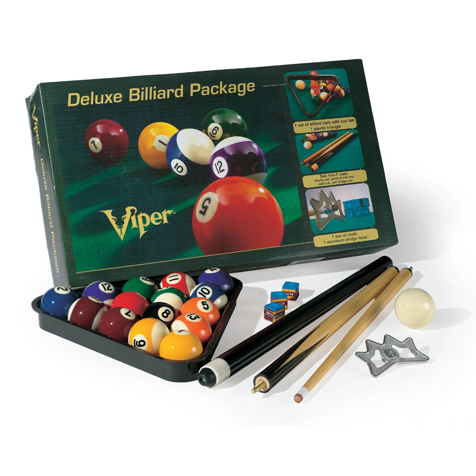 GLD Billiards Viper Deluxe Billiard Pool Cue Package