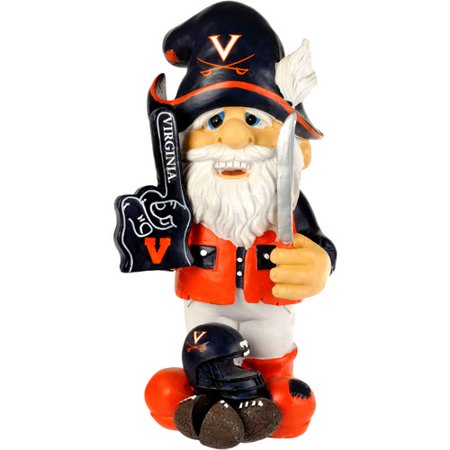 Forever Collectibles NCAA Thematic Gnome Version 2, Virginia University Cavaliers