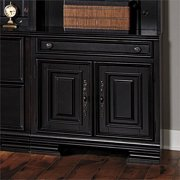 Samuel Lawrence Madison 2 Door Storage Cabinet in Black