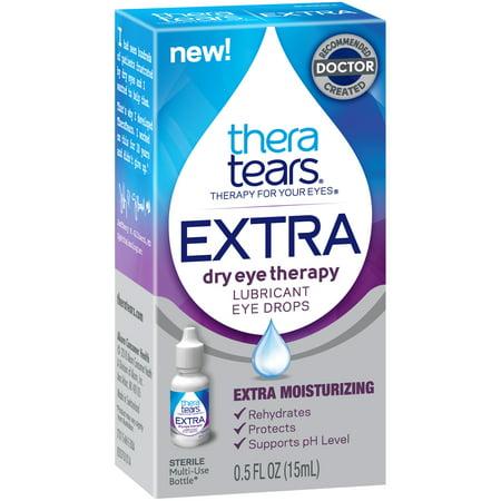 - Thera Tears® Extra™ Dry Eye Therapy Lubricant Eye Drops 0.5 fl. oz. Box