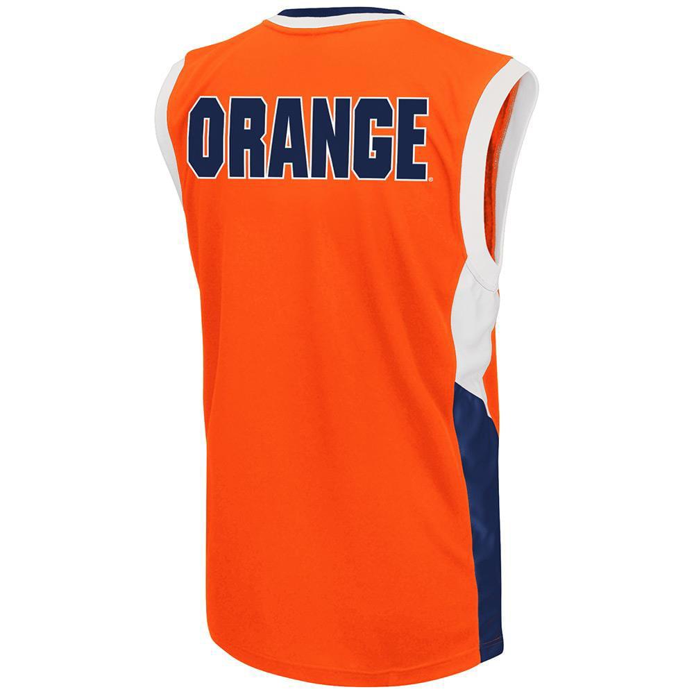 Mens Ncaa Syracuse Orange Basketball Jersey Team Color Walmart Com