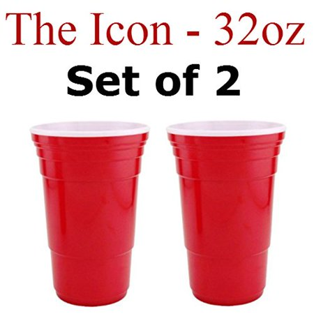 Red Cup Living 32 Oz. Reusable Red Cup - Icon XL (Set of