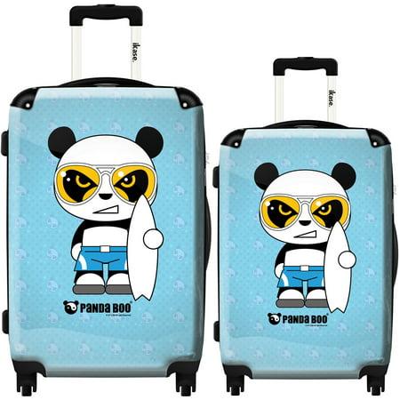 3cfdaa6fc515 iKase - iKase Suitcase Panda Boo Surf - Set 20