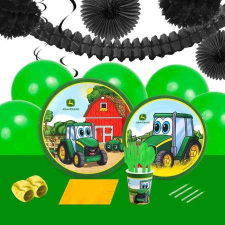 John Deere Johnny Tractor 16 Guest Party Pack + Decoration Kit](John Deere Party Decorations)
