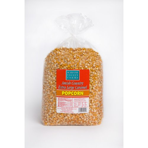 Wabash Valley Farms Extra Large Caramel Gourmet Popping Corn, 6 lb
