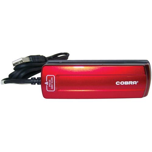 COBRA DIGITAL DPS1900RED Mini Scanner (Red)