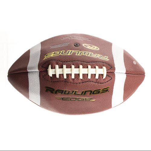Rawlings Edge Composite Leather Football (NFHS/NCAA size)