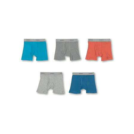 Hanes Toddler Boys' Underwear Boxer Brief, 5 Pack (Boys Toddlers) ()