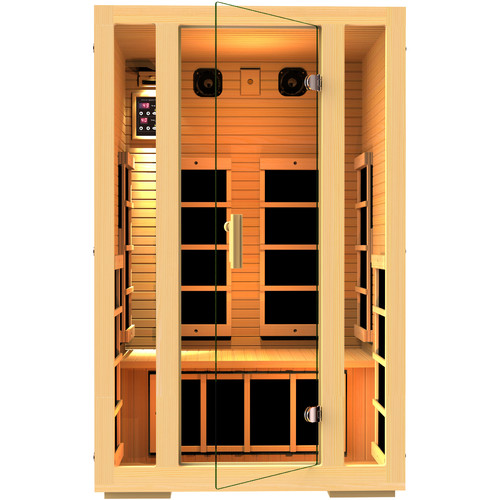 JNH Lifestyles Joyous 2 Person FAR Infrared Sauna by JNH Lifestyles Sauna