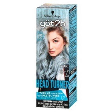 Temporary Haircolor (3 Pack - Schwarzkopf Got2B Color Headturner Temporary Hair Color Spray Peach, 4.2)