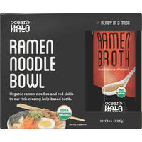 Ocean's Halo Organic and Vegan Instant Ramen Noodle Bowl, 2 Pack