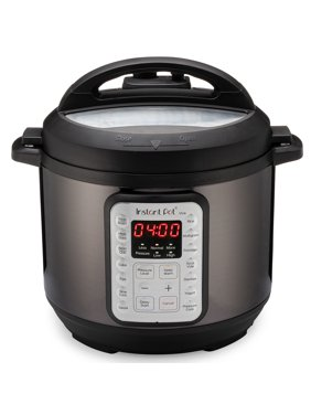 Instant Pot VIVA Black Stainless 6-Quart 9-in-1 Multi-Use Programmable Pressure Cooker, Slow Cooker, Rice Cooker, Yogurt Maker, Cake Maker, Egg Cooker, Saut, with Sous Vide and Sterilizer