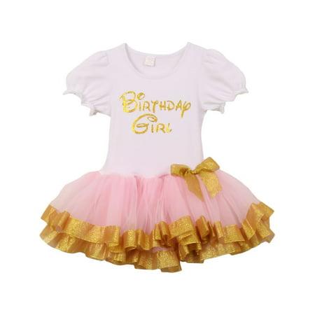 Little Girls Pink Gold