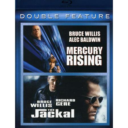 Mercury Rising / The Jackal (Blu-ray) (John Hughes Films)