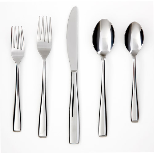 Cambridge Silversmiths Annalise Mirror 20-Piece Flatware Set by Cambridge Silversmiths, Ltd.