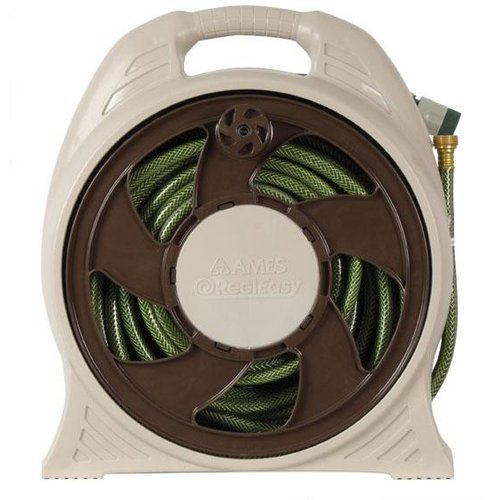Ames 2388110 Reel Easy Cassette Portable Hose Reel With 60\u0027 Hose