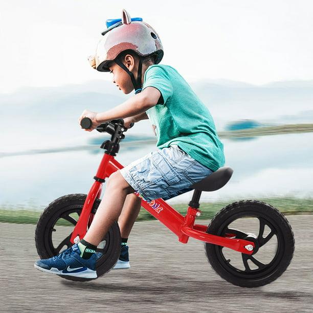 "Unisex Children 12/"" Balance Bike Kids No-Pedal Learn To Ride Pre Bike Seat US"