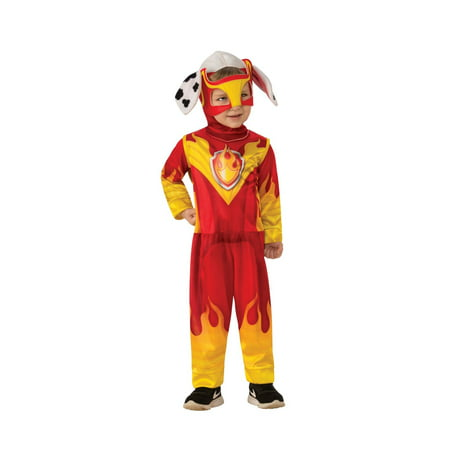 Marshall Lee Halloween Costumes (Halloween Paw Patrol Mighty Pups Marshall Child)