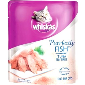 Whiskas PURRFECTLY Tuna With Shrimp
