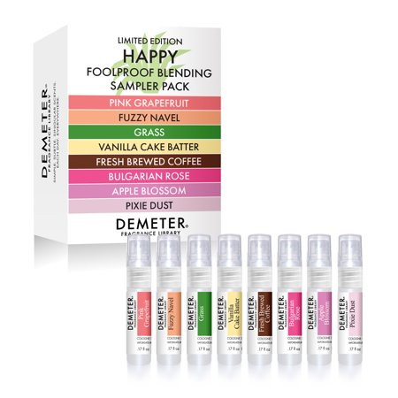 Happy Foolproof Blending Sampler - Pink Grapefruit, Fuzzy Navel, Grass, Vanilla Cake Batter, Fresh Brewed Coffee, Bulgarian Rose, Apple Blossom, Pixie Dust ()