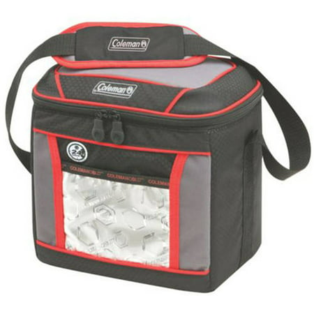 Coleman 9-Can Soft Cooler Bag Keeps Ice Up to 24 Hours - Pop Up Cooler