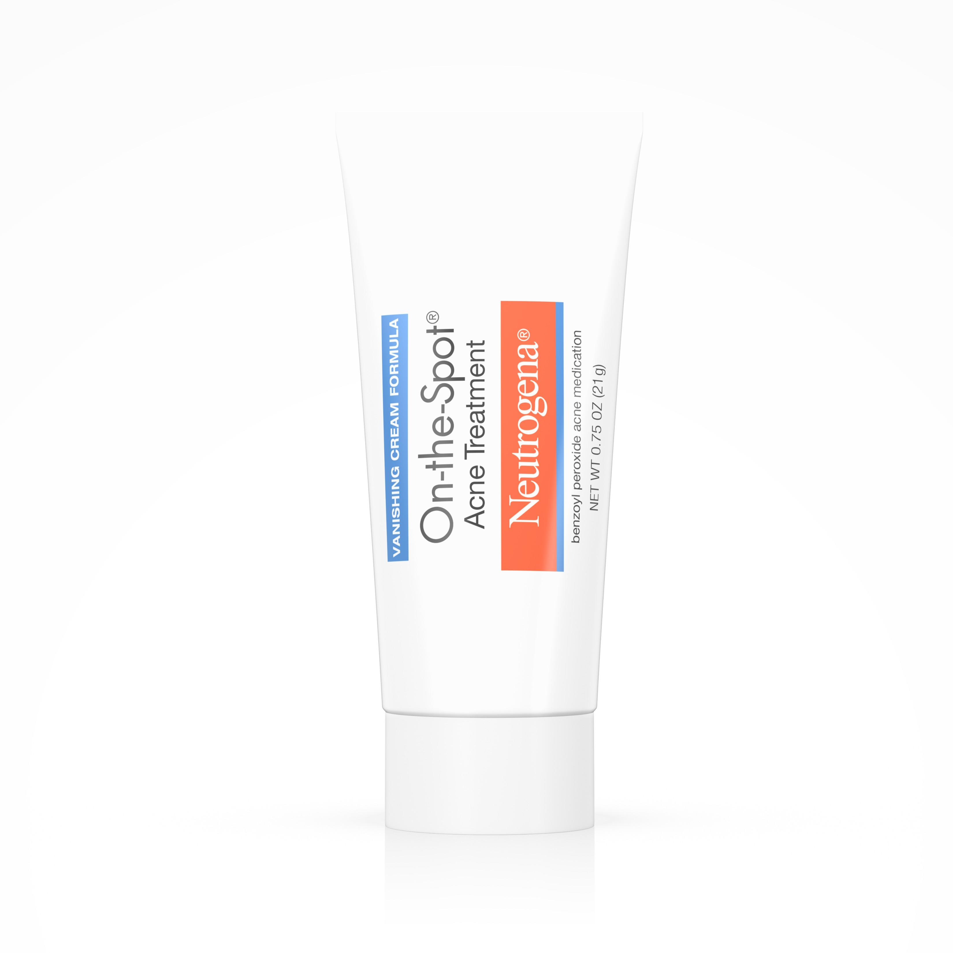 Neutrogena On-The-Spot Acne Treatment With Benzoyl Peroxide, 0.75 Oz.