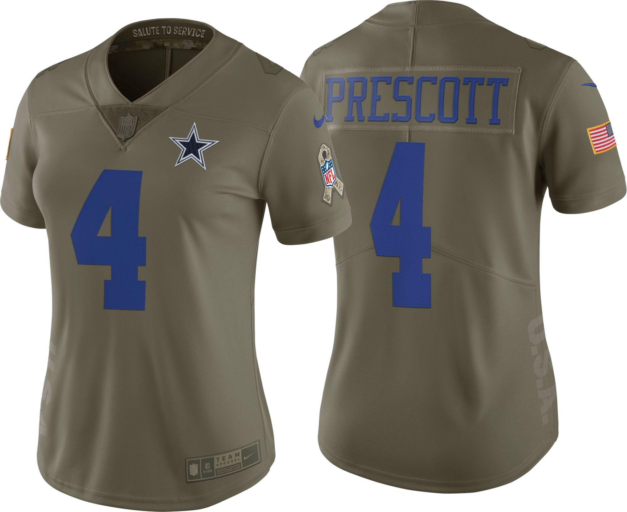 new concept 3f1cb 99a89 salute to service cowboys jersey