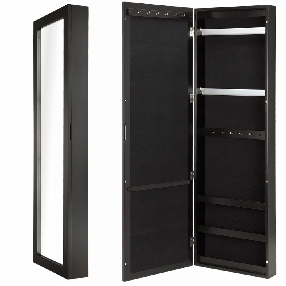 Homegear Over Door or Wall Mounted Accessories Mirror Closet