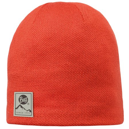 - Buff Outdoor Headwear Knitted & Polar Winter Hat Beanie Skull Cap Solid Orange