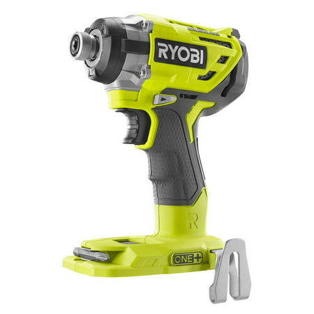 Ryobi 18-Volt ONE+ Cordless Brushless 3-Speed 1/4 in Hex Impact Driver (Tool Only) with Belt Clip (New Open Box)