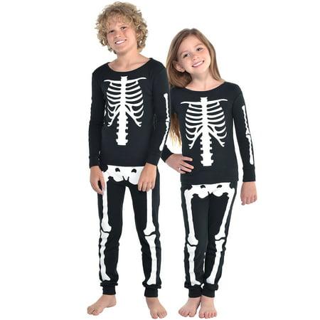 Carters Halloween Pajamas Skeleton (MJC Skeleton Halloween Costume Pajamas for)