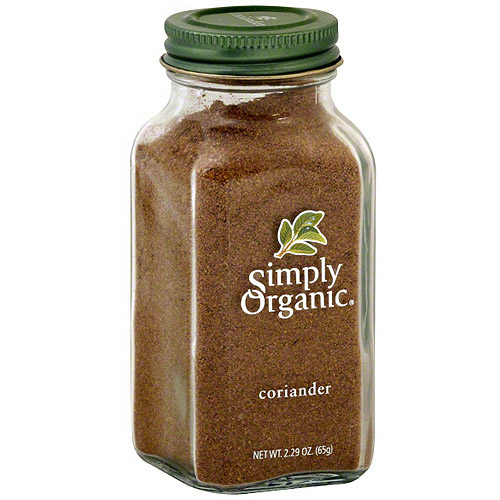 Simply Organic Coriander, 2.7 oz (Pack of 6)