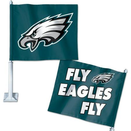 Philadelphia Eagles WinCraft Double-Sided Slogan Car Flag