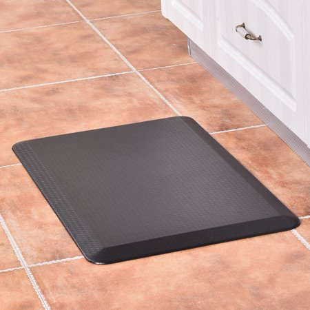Goplus 3/4\'\' Non-Slip Anti-Fatigue Comfort Kitchen Floor Mats Mat Brown