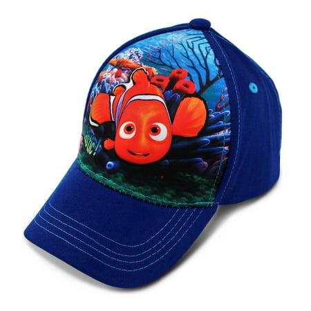 Little Boys Finding Nemo 3D Pop Cap, Blue, Age 4-7