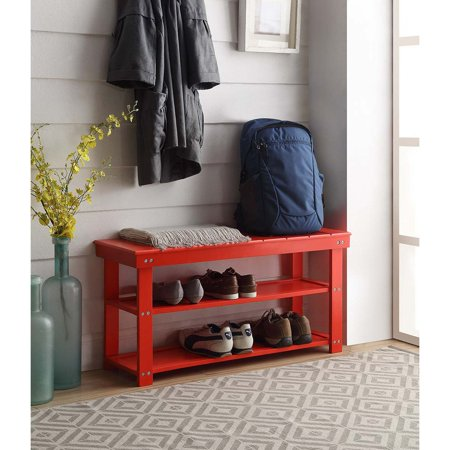 Convenience Concepts Oxford Utility Mudroom Bench, Multiple Finishes