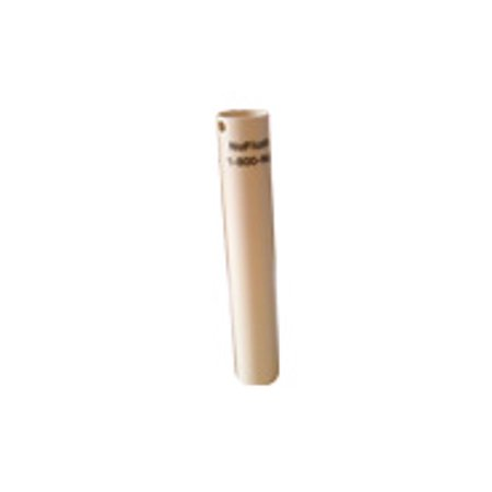 Want a Better Flushing Toilet, Toilet Overflow Extension Tube, Beige NuFlush, 1.3 inches ID or 33.020 mm ID