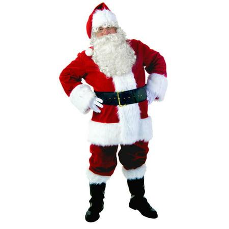 Plus Size Premiere Santa Suit - Santa Suit Plus Size