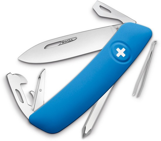 D04 Swiss Pocket Knife Blue Walmart Com